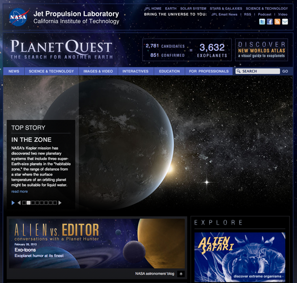 exoplaneter NASA