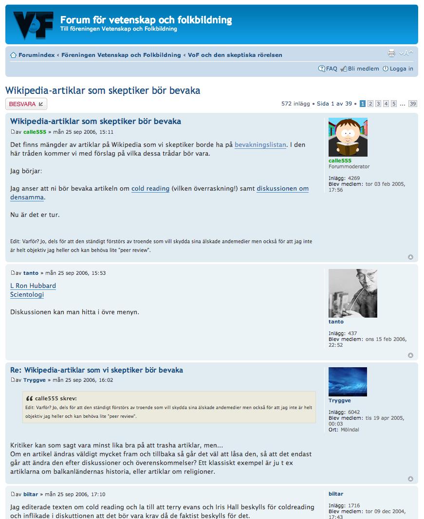 Wikipedia, VoF, Carl von Blixen
