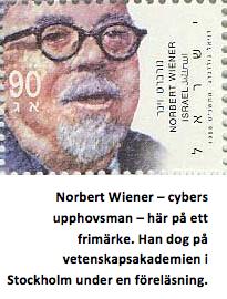 Norbert Wiener, stamp