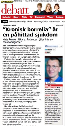 Mats Reimer borrelia