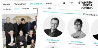Pelle Mattisson, Magdalena Kock - Stampen Media Group