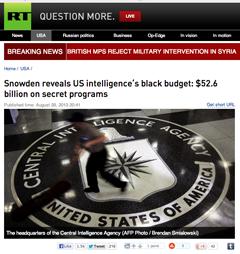 Snowden,   CIA