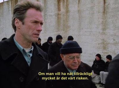 Alcatraz, Clint Eastwood