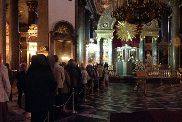 Cue Church St Petersburg