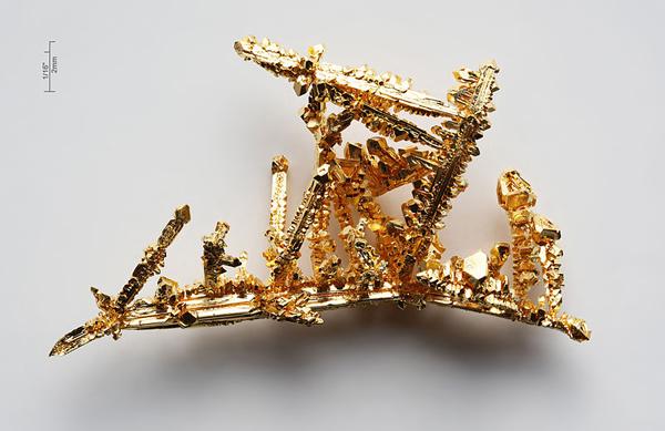 Gold-crystals