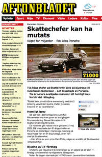Mutbrott Skatteverket Aftonbladet