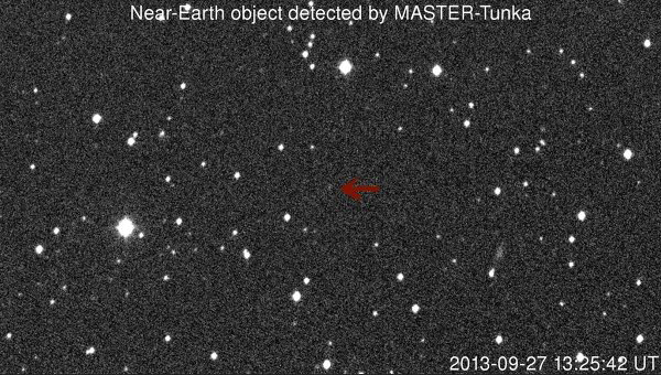Asteroid detected by Sternberg Astronomical Institute