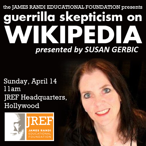 Gerillaskeptiker på Wikipedia