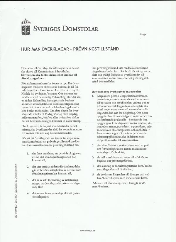 Kammarrätten avslag 30 sep 2013 sid4