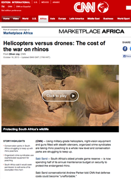 Noshorning-Afrika