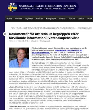 Vetenskapens Värld,   SVT