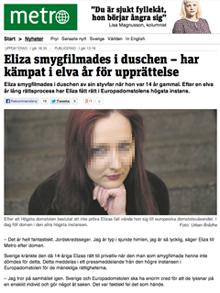 Europadomstolen-Eliza