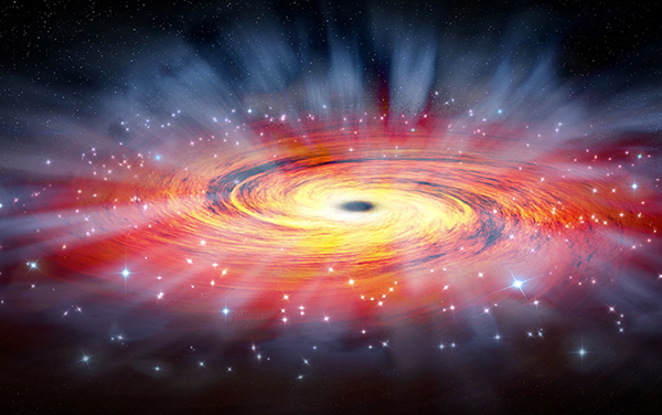 SMBH Black hole