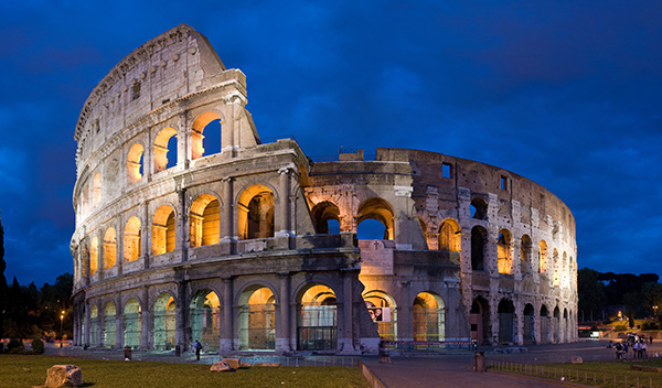 Colosseum. Foto: David Iliff. Licens: CC BY-SA 3.0, Wikimedia Commons