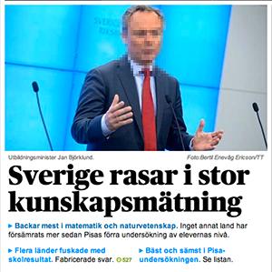 Svenska skolan rasar