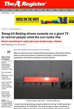 Sunset-China
