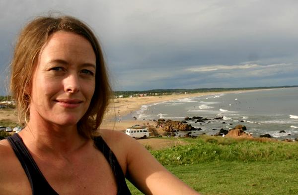 Foto: Anna Böhlmark, selfie, 2014 Brasilien