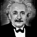 Einstein. Foto: Sophie Delar, 1955