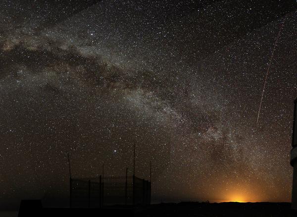 Milkyway foto Bruno Gilli ESO