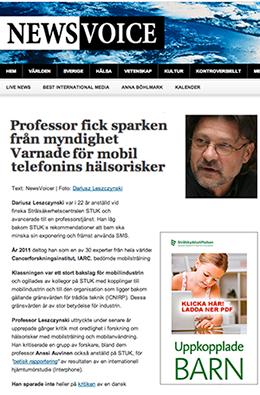 Professor mobiletelefoni