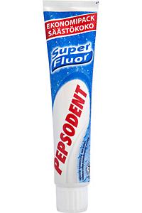 Tandkräm fluor
