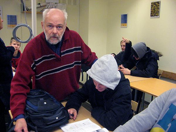 Ingemar Ljungqvist,   skolan