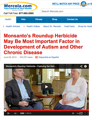 Mercola-Roundup-Monsanto