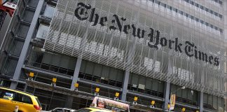 New York Times building. Foto: Michal Osmenda. Licens: CC BY-SA 2.0, Wikimedia Commons