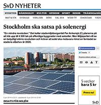 solceller stockholm