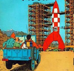 tintin-rymdskepp