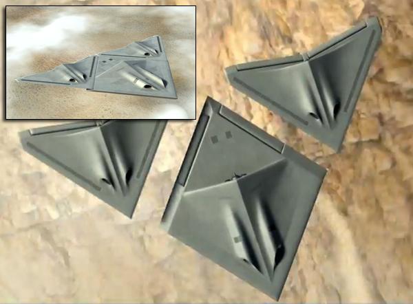 BAE transformer drones