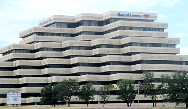 Bank of America - Photo Billy Hathorn Wikimedia Commons