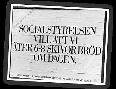 Brödinstitutet: Ät 6-8-skivor brod om dagen - Socialstyrelsen
