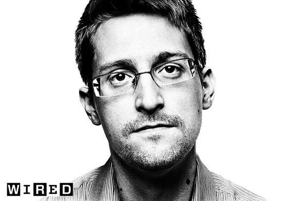 Edward Snowden Photo: Platonphoto.com