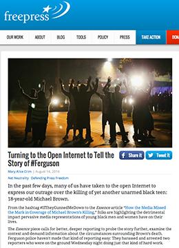 FreePress Ferguson