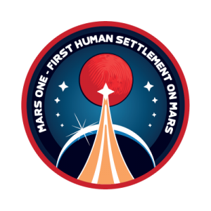 Mars One sticker