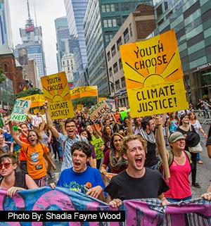 Climatemarch - Photo: Shadia Fayne Wood