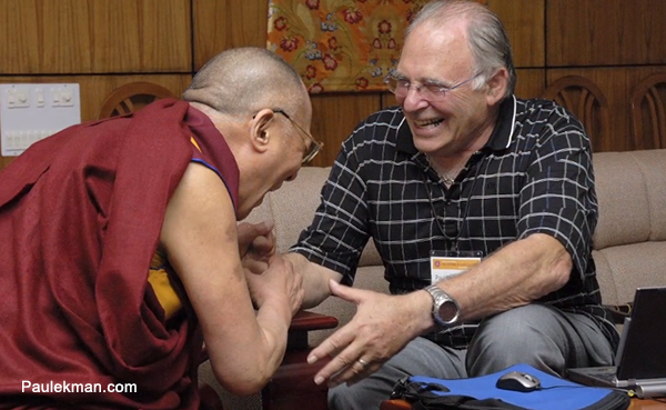 Dalai Lama and Paul Ekman