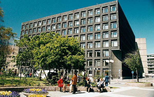 Riksbanken huset