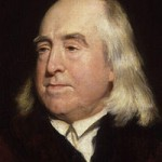 Jeremy Bentham by Henry William Pickersgill, detail