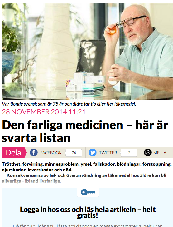 Anna Bäsén Om Läkemedelsförgiftandet Newsvoice