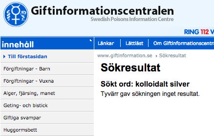Giftinformationscentralen