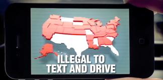 Mobilprat i bilen förbjudet i många delstater i USA