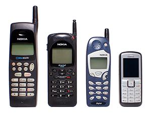 Nokia mobiler,   Foto: Jorge Barrios Wikimedia Commons