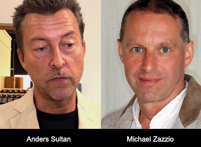 Anders Sultan och Michael Zazzio - Foto: Canal 2nd Opinion (Sultan)