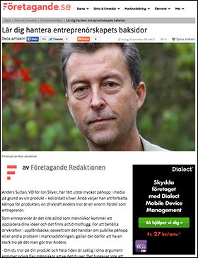 Anders Sultan - Företagande.se