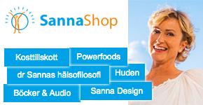 Annons Sannas webbshop