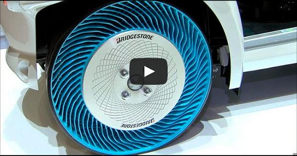 Bridgestone Airless tires