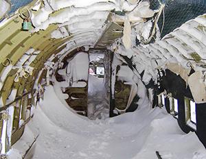 C-47 vrak - Foto: WO Ed Patten