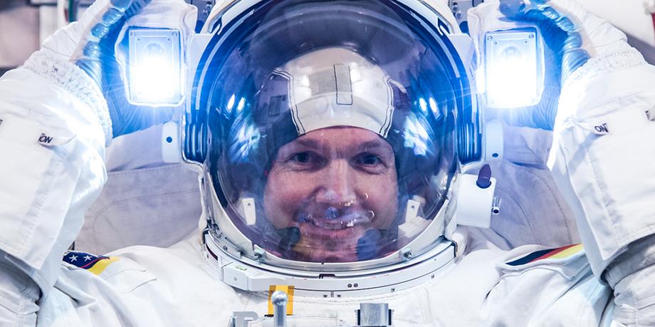 ESA astronaut Alexander Gerst